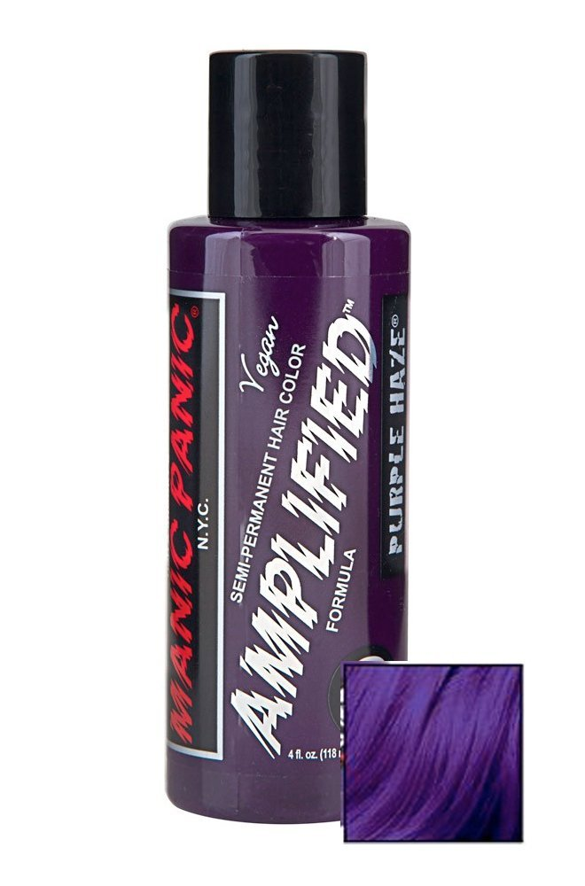 manic panic amplified purple haze haarfarbe lila. Black Bedroom Furniture Sets. Home Design Ideas